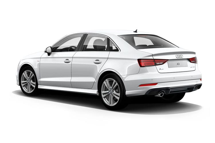 Audi A3 35 Saloon 4Dr 2.0 TDI 150PS Sport 4Dr S Tronic [Start Stop] back view