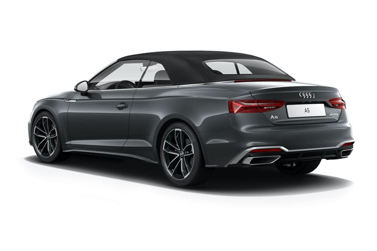 Audi A5 40 Cabriolet 2Dr 2.0 TDI 190PS Sport 2Dr S Tronic [Start Stop] [Technology] back view