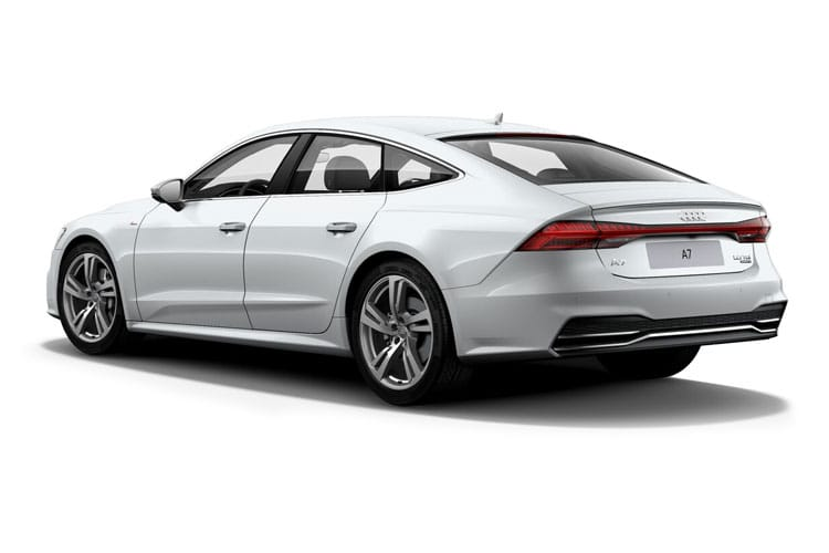 Audi A7 45 Sportback quattro 5Dr 2.0 TFSI 265PS Black Edition 5Dr S Tronic [Start Stop] back view