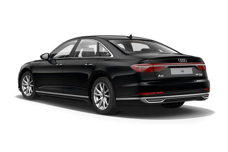 Audi A8 50 Saloon quattro 4Dr 3.0 TDI V6 286PS Vorsprung 4Dr Tiptronic [Start Stop] back view