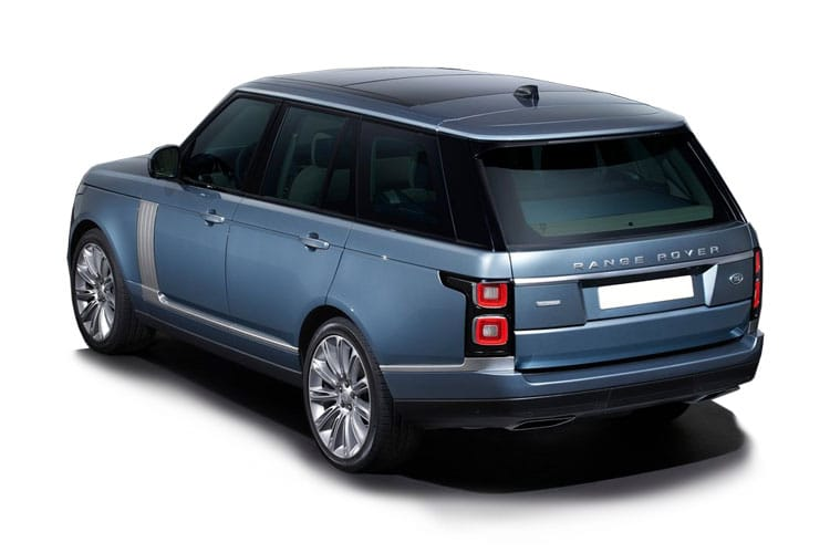 Land Rover Range Rover LWB SUV 3.0 D MHEV 350PS SVAutobiography 5Dr Auto [Start Stop] back view