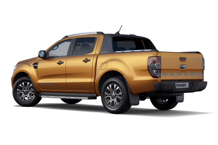Ford Ranger PickUp Double Cab 4wd 2.0 EcoBlue 4WD 170PS Limited Pickup Double Cab Auto [Start Stop] back view
