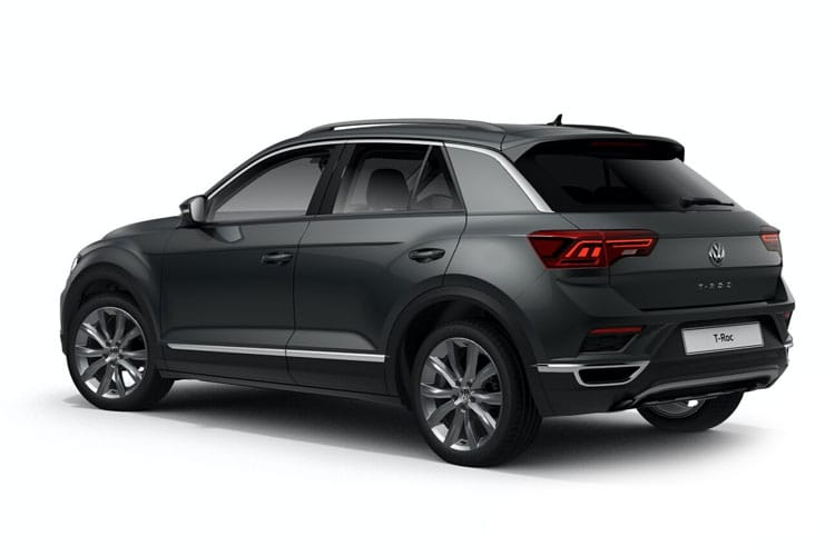 Volkswagen T-Roc SUV 4Motion 2.0 TSI 190PS R-Line 5Dr DSG [Start Stop] back view