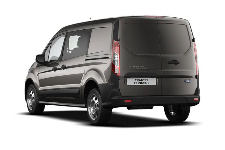 Ford Transit Connect 220 L1 1.0 EcoBoost FWD 100PS Trend Crew Van Manual [Start Stop] [DCiV] back view