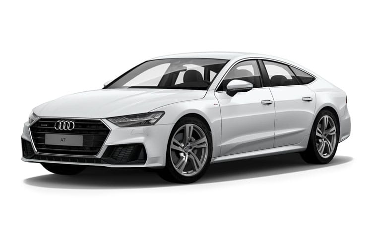 Audi A7 40 Sportback 5Dr 2.0 TDI 204PS Black Edition 5Dr S Tronic [Start Stop] [Comfort Sound] front view