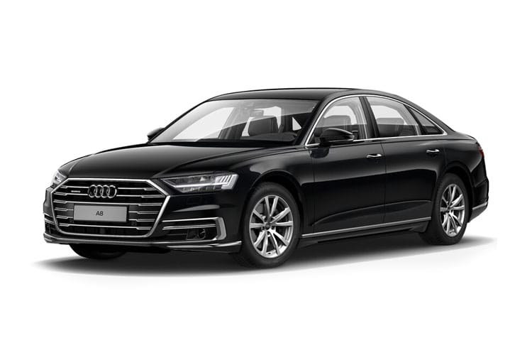 Audi A8 50 Saloon quattro 4Dr 3.0 TDI V6 286PS Black Edition 4Dr Tiptronic [Start Stop] front view