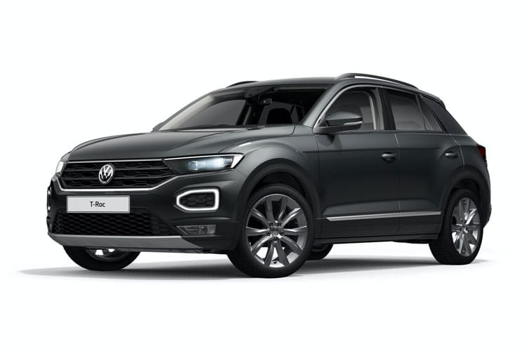 Volkswagen T-Roc SUV 4Motion 2.0 TSI 190PS R-Line 5Dr DSG [Start Stop] front view