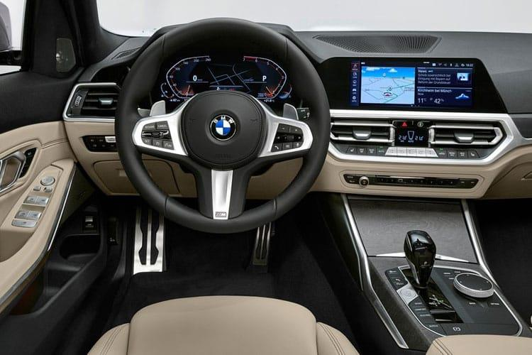 BMW 3 Series 330 Touring 2.0 e PHEV 12kWh 292PS M Sport 5Dr Auto [Start Stop] inside view
