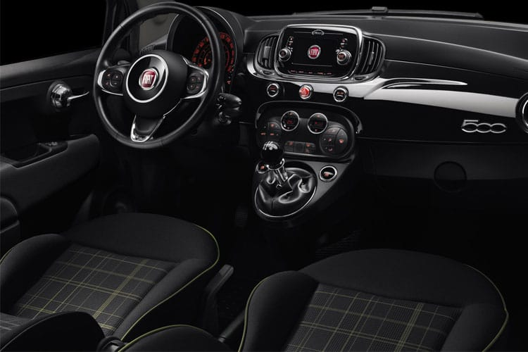 Fiat 500 Hatch 3Dr 1.0 MHEV 70PS Lounge 3Dr Manual [Start Stop] inside view