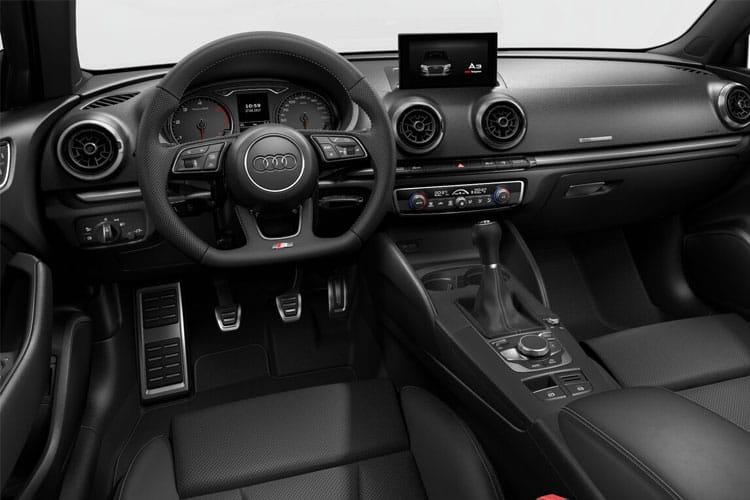 Audi A3 35 Saloon 4Dr 2.0 TDI 150PS Sport 4Dr S Tronic [Start Stop] inside view