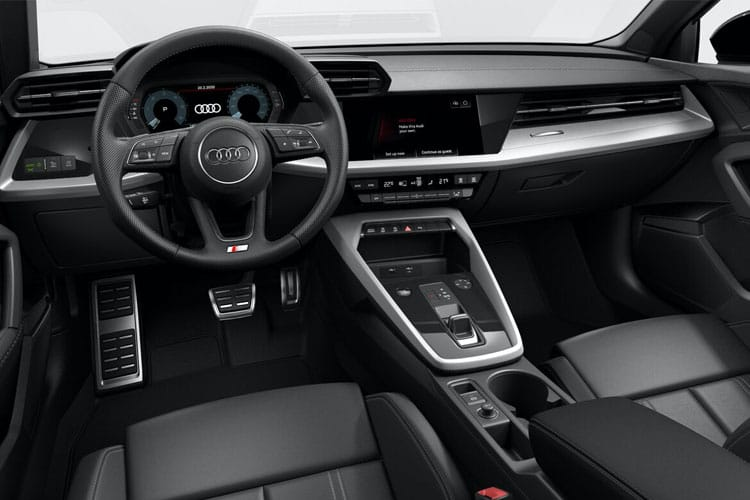 Audi A3 35 Sportback 5Dr 2.0 TDI 150PS S line 5Dr Manual [Start Stop] inside view