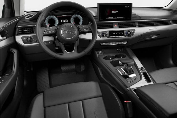 Audi A4 45 Avant quattro 5Dr 2.0 TFSI 245PS Black Edition 5Dr S Tronic [Start Stop] inside view