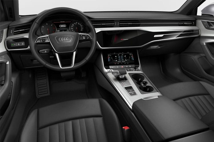 Audi A6 40 Avant quattro 2.0 TDI 204PS Black Edition 5Dr S Tronic [Start Stop] inside view