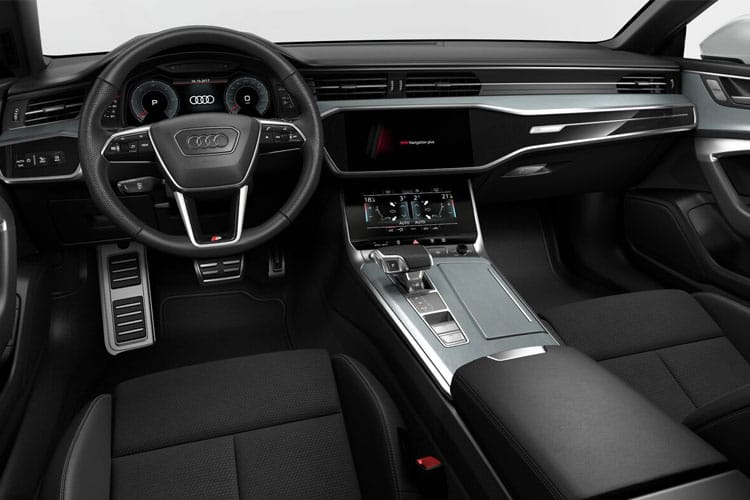 Audi A7 45 Sportback quattro 5Dr 2.0 TFSI 265PS Black Edition 5Dr S Tronic [Start Stop] inside view