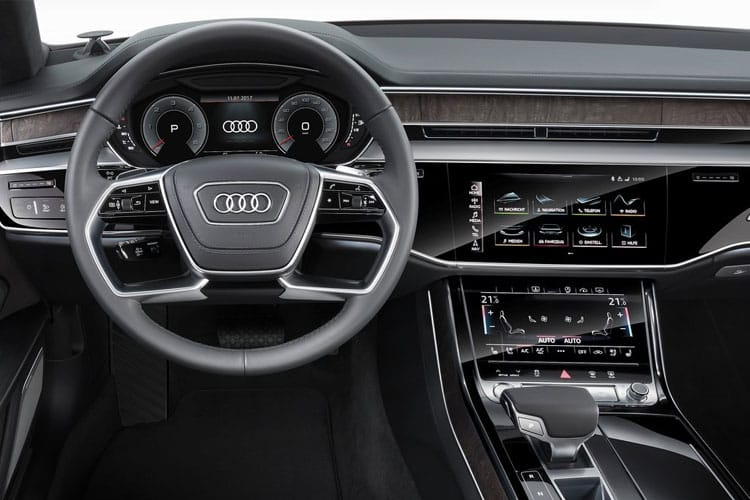 Audi A8 50 Saloon quattro 4Dr 3.0 TDI V6 286PS Vorsprung 4Dr Tiptronic [Start Stop] inside view