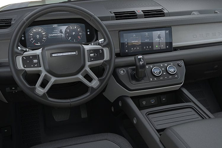 Land Rover Defender 110 SUV 5Dr 2.0 P 300PS X-Dynamic HSE 5Dr Auto [Start Stop] [Family Pack] inside view