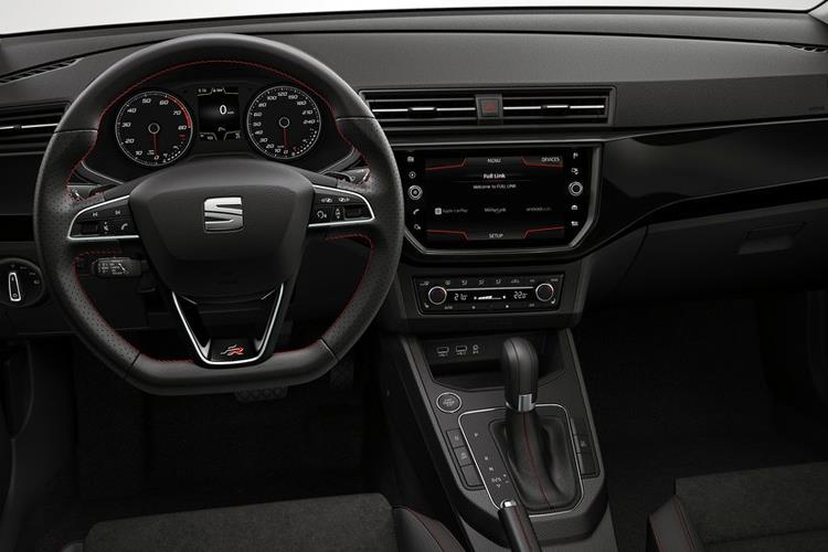 SEAT Ibiza Hatch 5Dr 1.0 TSI 115PS FR 5Dr Manual [Start Stop] inside view
