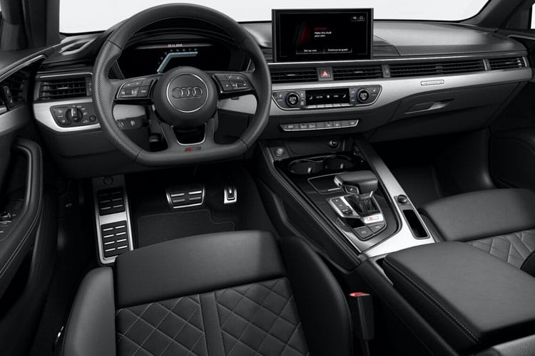 Audi A4 35 Saloon 4Dr 2.0 TFSI 150PS S line 4Dr S Tronic [Start Stop] inside view