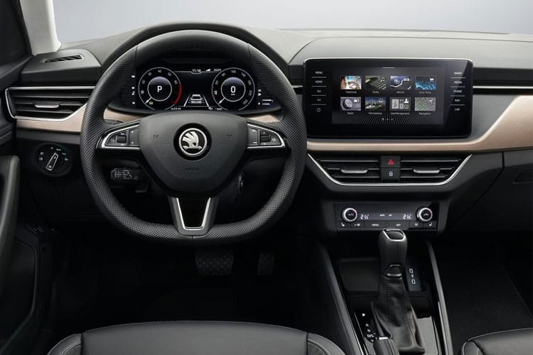 Skoda Scala Hatch 5Dr 1.5 TSi 150PS SE 5Dr Manual [Start Stop] inside view