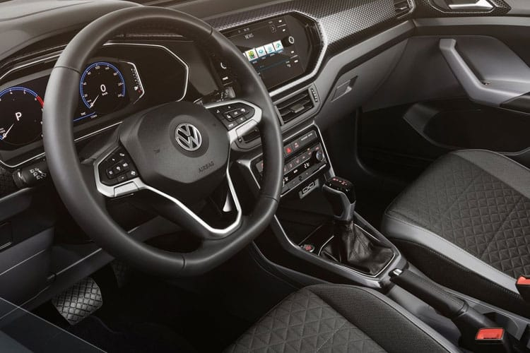 Volkswagen T-Cross SUV 1.0 TSI 110PS SEL 5Dr Manual [Start Stop] inside view